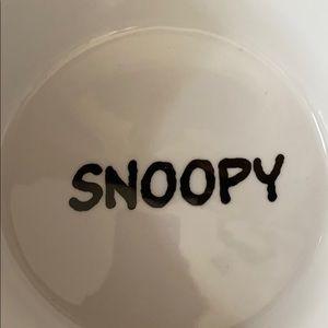 Peanuts Other - Peanuts Snoopy Pet Bowl